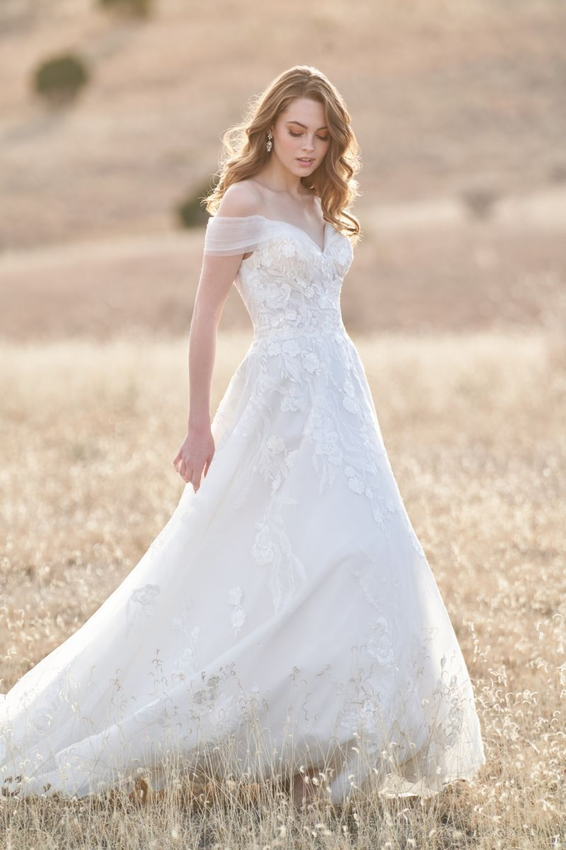Photo of model wearing a Bridal Collection Gown